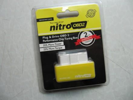 NITRO OBD2 chip tuning (benzin)