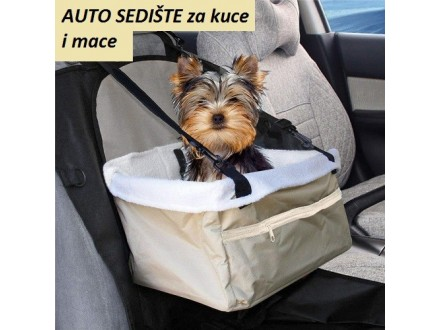 NOVO! Auto sedište za pse i mačke
