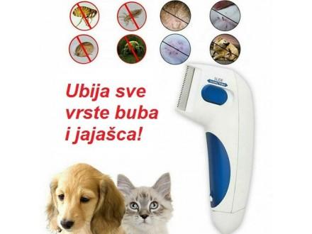 NOVO Flea Doctor Električni češalj protiv buva za mačke