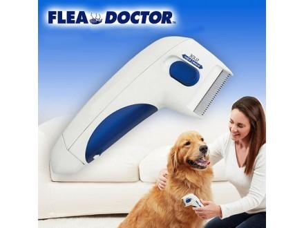 NOVO Flea Doctor Električni češalj protiv buva za pse