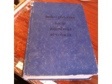Nacije Jugoslavija revolucija Janko Pleterski