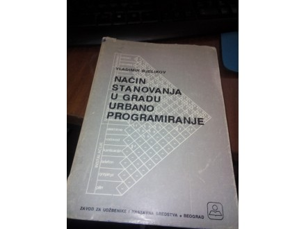 Način stanovanja u gradu urbano programiranje Bjelikov