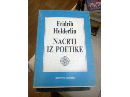 Nacrti iz poetike - Fridrih Helderlin