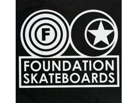 Nalepnica Foundation skejt skate skateboard