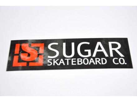 Nalepnica Sugar skateboards original nova