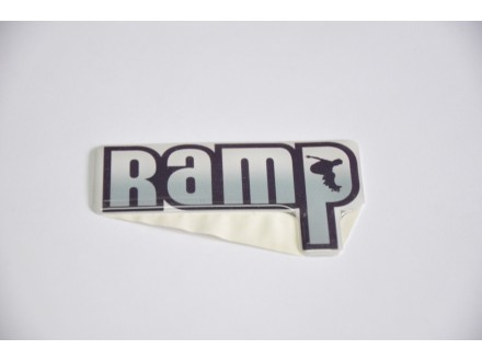 Nalepnica stiker debljine 2mm Ramp