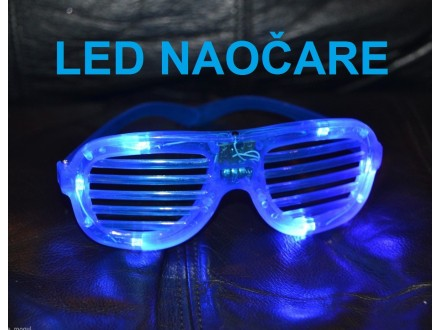 Naocare sa LED diodama - PLAVE