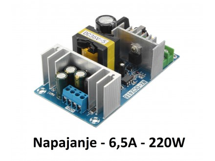 Napajanje 220V na 36V - 6.5A - 220W - AC-DC