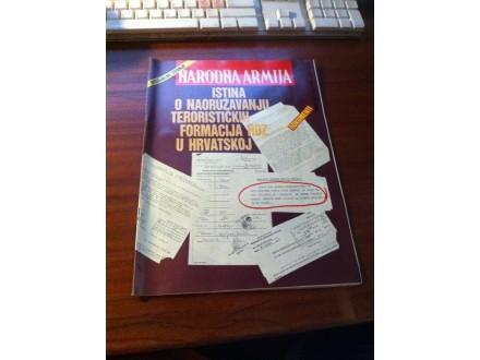 Narodna armija specijalno izdanje 26.1.1991.