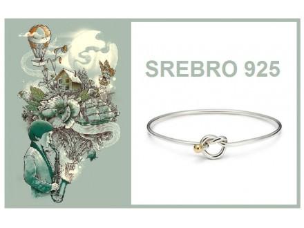 Narukvica SREBRO 925 - B093
