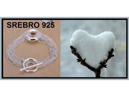Narukvica SREBRO 925 - H029