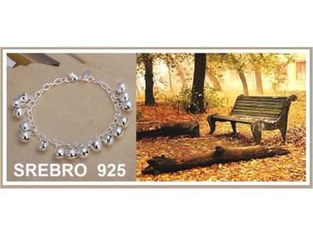 Narukvica SREBRO 925 - H056