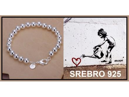 Narukvica SREBRO 925 - H126