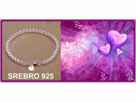 Narukvica SREBRO 925 - H172