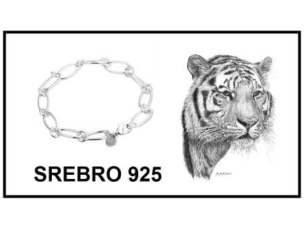 Narukvica SREBRO 925 - H194