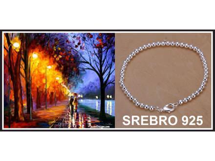 Narukvica SREBRO 925 - H198