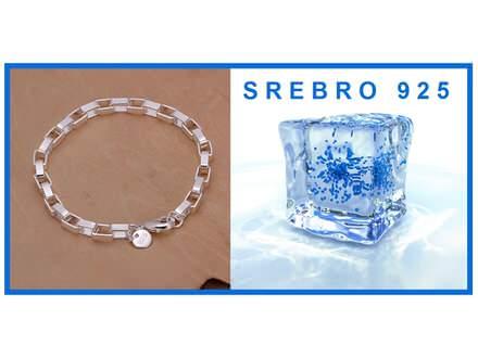 Narukvica SREBRO 925 - H203