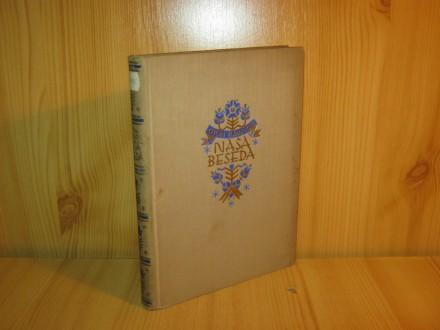Nasa beseda-izbor pesmi Otona Zupancica 1929.g