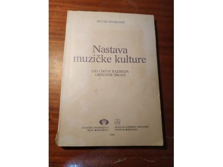 Nastava muzičke kulture od 1 do 4 raz. Stoković