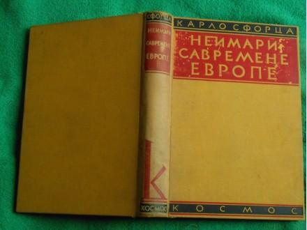 Neimari savremene Evrope Karlo Sforca Kosmos 1932.g