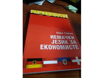 Nemački jezik za ekonomiste Sonja Uzelac
