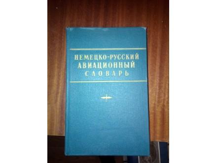 Nemačko-ruski aviatičarski rečnik na ruskom