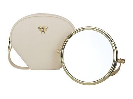 Neseser sa ogledalom - Cream, Travel Case