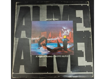 Nightwing - A Night Of Mystery LP (MINT, PGP,1986)