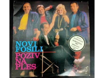 Novi Fosili – Poziv Na Ples LP (Jugoton,1987)