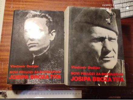 Novi prilozi za biografiju Josipa Broza Tita 1-2