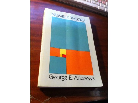 Number Theory George E . Andrews