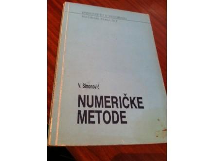Numeričke metode V . Simonović