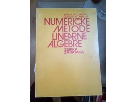 Numeričke metode linearne algebre zbirka - Stojaković