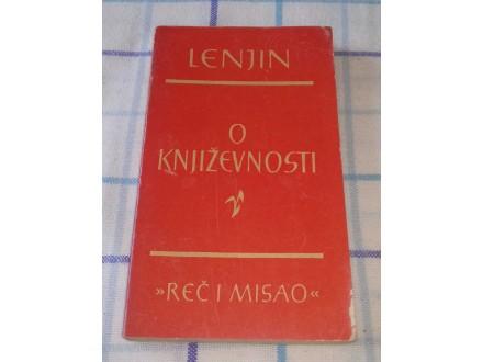 O KNJIŽEVNOSTI - Vladimir Iljič Lenjin