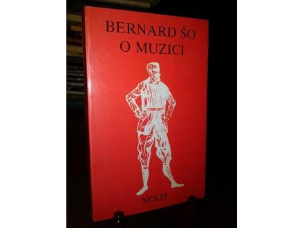 O MUZICI - Bernard Šo