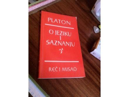 O jeziku i saznanju Platon