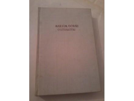 O literaturi - Maksim Gorki