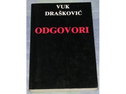 ODGOVORI - Vuk Drašković