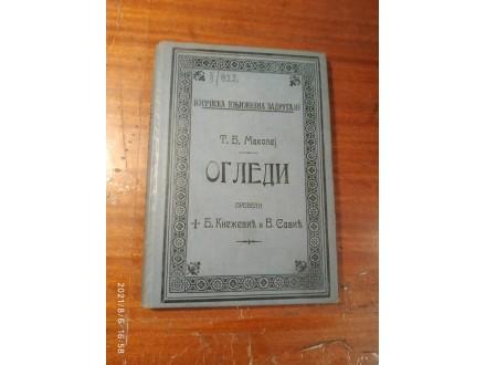 OGLEDI - T. B. Makolej - 1912