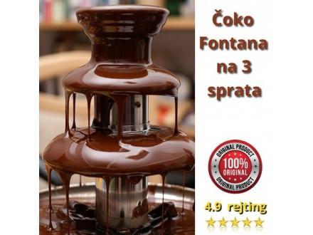 ORIGINAL Čarobna Čokoladna Fontana na 3 sprata