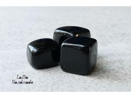 Obsidijan prirodni, crni