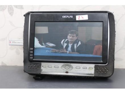 "Odys 8"" portable DVD player / USB / SD / Baterija 2h"