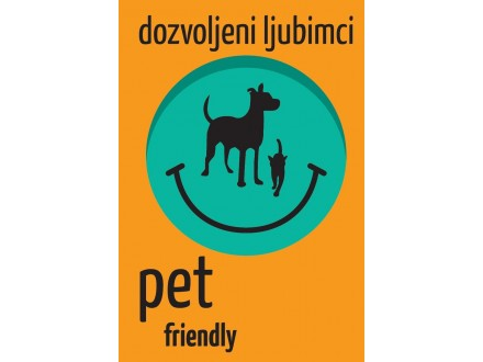 Office nalepnica Pet friendly 48211