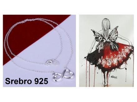 Ogrlica SREBRO 925 - N148