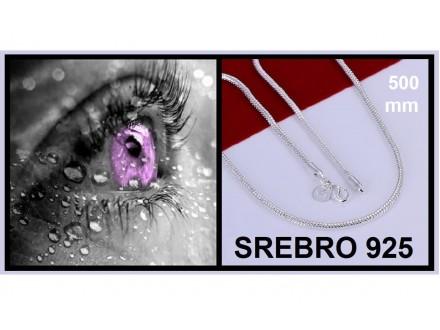 Ogrlica SREBRO 925 - N192 - 20