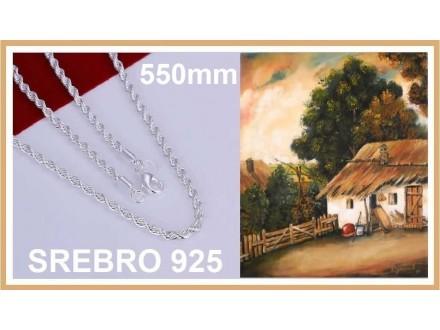 Ogrlica SREBRO 925 - N226 - 22
