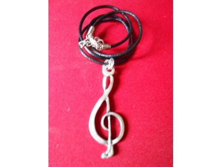 Ogrlica - Violinski ključ