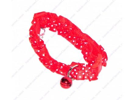 Ogrlica za mačku ili štene 2 + BESPL DOST. ZA 3 ART.