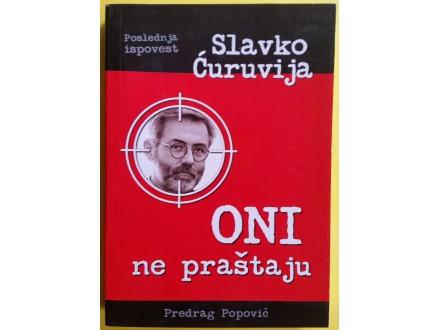 Oni ne praštaju  Predrag Popović