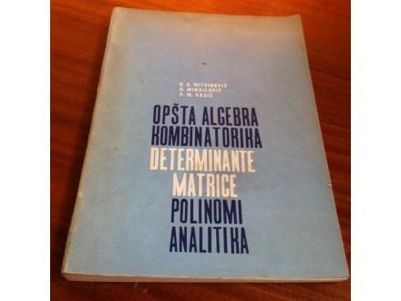 Opšta algebra kombinatorika MItrović